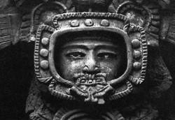 0 2 3 Mayan astronaut
