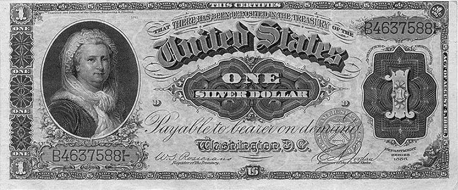 3 7 2 silver dollar note