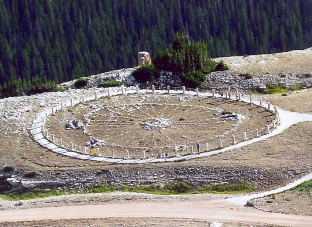 ビッグホーン国立公園の Medicine Wheel
